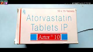 Atorvastatin Tablets (Aztor 10 Tablets)Review in Bengali uses & side effects