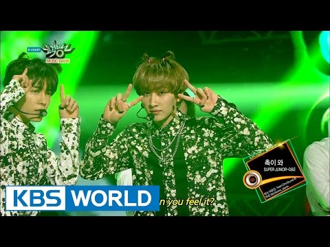 SUPER JUNIOR - D&E - Can You Feel It? (촉이 와) [Music Bank HOT Stage / 2015.03.27]