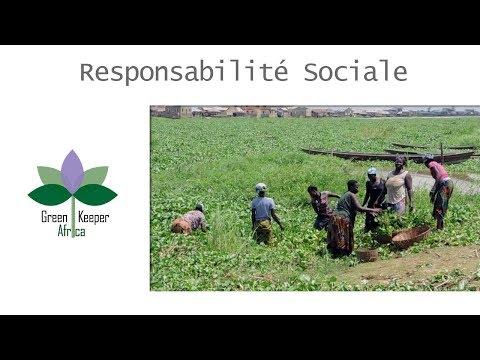 Green Keeper Africa :  Responsabilité Sociale