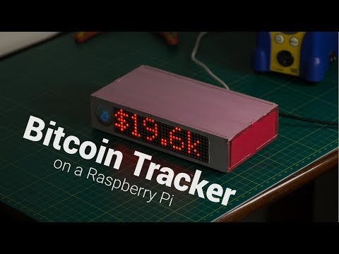 Bitcoin Tracker On A Raspberry Pi