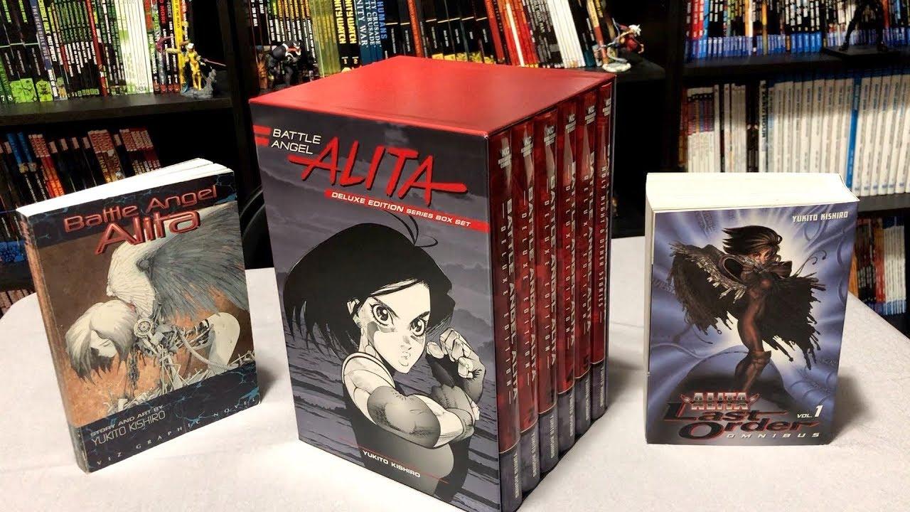Battle Angel Alita Deluxe Complete Series Box Set Unboxing -7025
