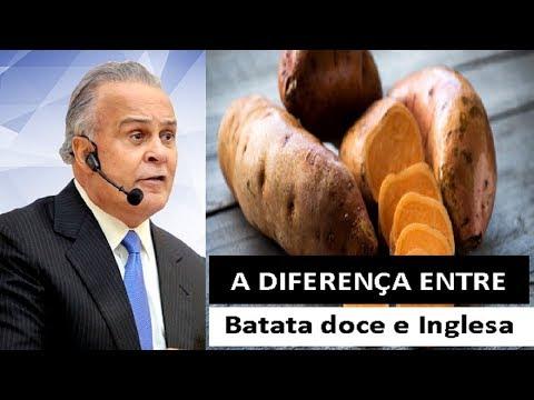A Diferença entre BATATA DOCE e BATATA INGLESA - Afinal, Carboidrato faz bem ou faz mal?