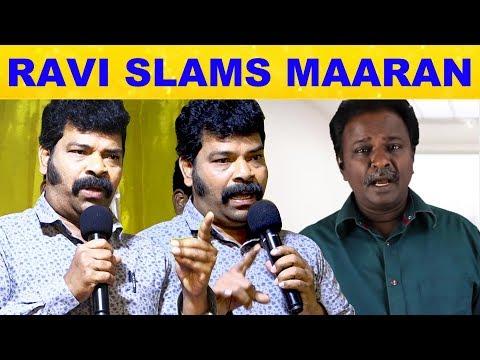 Ravi Mariya Slams Blue Sattai Maaran | Vennila Kabadi Kuzhu2 Success Meet | Vikranth | Suseenthiran