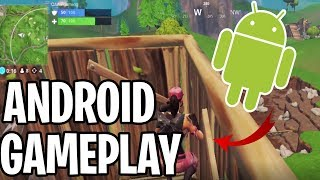 FIRST FORTNITE ANDROID GAME ON YOUTUBE? FORTNITE BR (ANDROID)