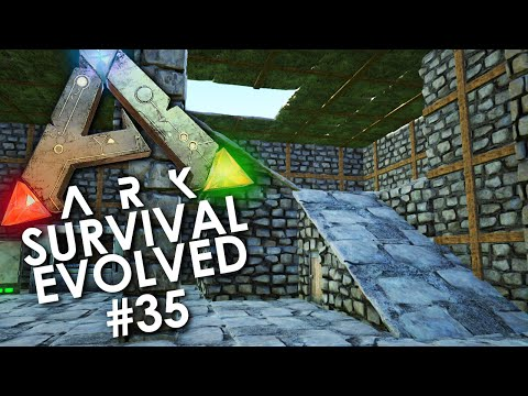 ARK: Survival Evolved - Episode 35 | ONE STAIRCASE TO RULE THEM ALL