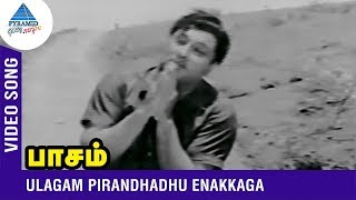 MGR Hits | Ulagam Pirandhadhu Enakkaga Video Song | Paasam Tamil Movie | MGR | Pyramid Glitz Music