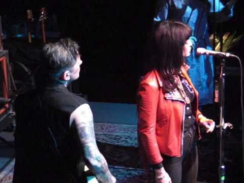 Butch Walker and Nikki Lane in Dallas, Texas