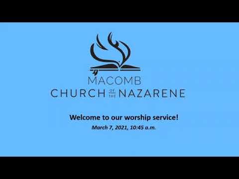 Sunday Morning Worship - March 7, 2021