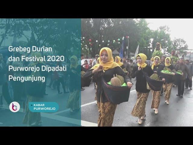 Grebeg Durian dan Festival 2020 Purworejo Dipadati Pengunjung