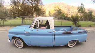 1965 Chevy C10 Fleetside Short Bed Truck - Blue Shark