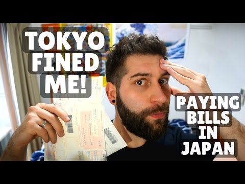 NOT Paying My Japanese Bills!