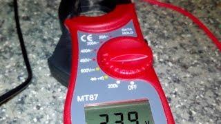 Обзор — токовые клещи MT87
