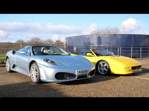 Driving Manual Ferrari F430 & F355 [Better Than My 360?]