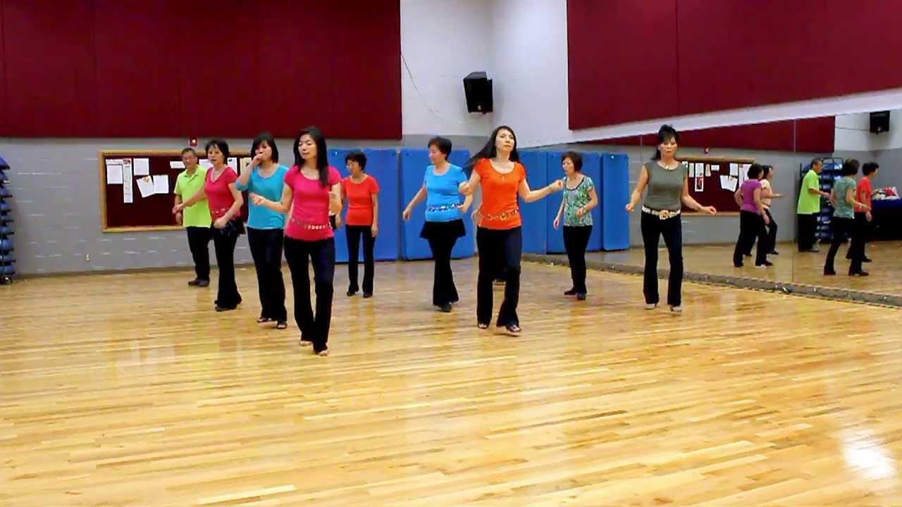 Telescopic - Line Dance (Dance & Teach in English & 中文) - YouTube