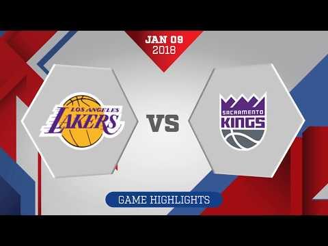 Sacramento Kings vs Los Angeles Lakers: January 9, 2018