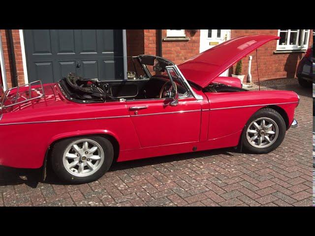 A 1967 MG Midget