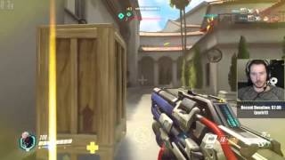 Overwatch: Soldier 76 Airshot