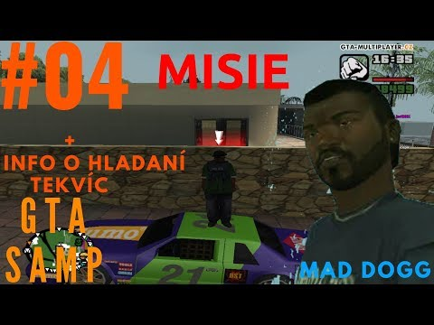 GTA SAMP - WTLS | MAD DOGG | MISIE #04 | CZ/SK