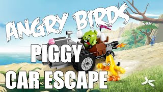 The Angry Birds Movie Toy Review!!! Piggy Car Escape Unboxing, Assembly, and Review!