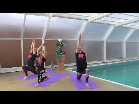 Blossom Yoga for kids - Nursery Rhymes Humpty Dumpty Sat on a Wall