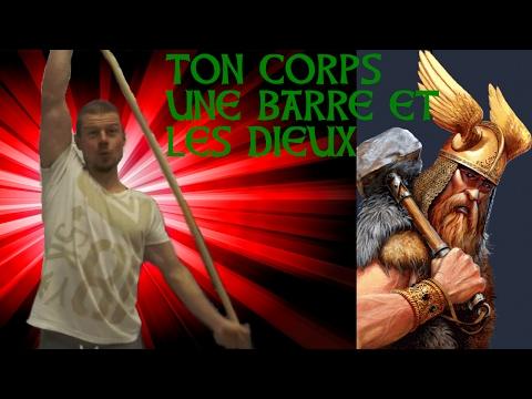 Ton corps, une barre et les dieux. truc pour les abdos- haut corps 2/2 - muscu dissidente #6