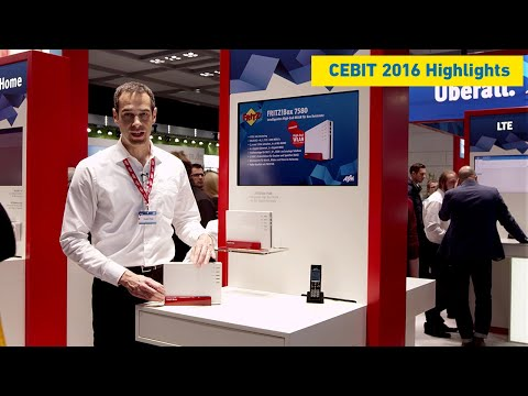 """Fast. Smart. Everywhere."" AVM at CeBIT 2016"