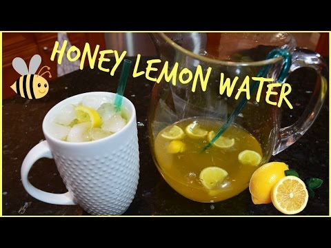Honey Lemon Water Recipe