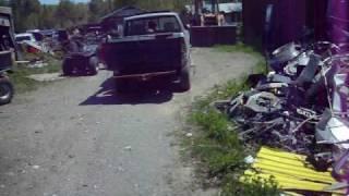 Dump Box truck