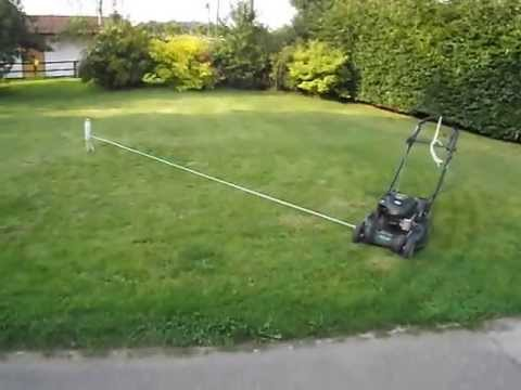 lawn mowing easy