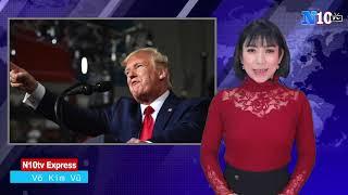 30/05/2020 :Tổng thống Trump tuyên bố ,Mỹ hủy bỏ chính sách ưu đãi đặc biệt với Hồng Kông .