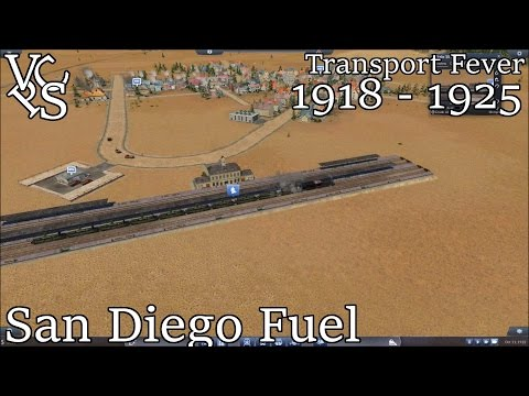 Transport Fever WVRR EP 08: San Diego Oil - Hard Mode Free Map