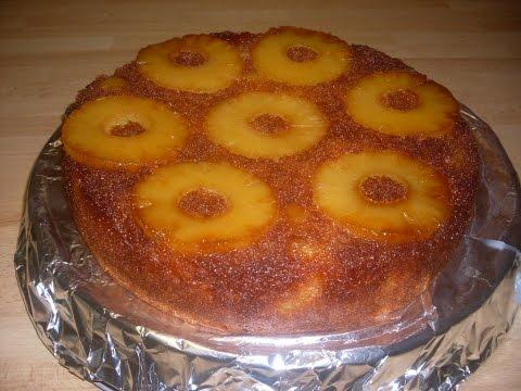 comment-faire-un-gâteau-renversé-et-caramélisé-à-l'ananas-facilement?