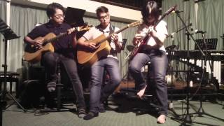 a k a Guitar Trio - Georgia On My Mind Live@UPM