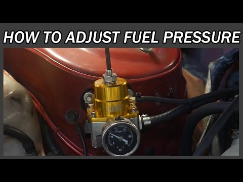How to adjust your Fuel Pressure