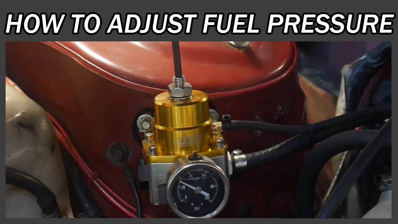Electric Fuel Pump Regulator Adjustment Great Installation Of Universal Wiring Schematic How To Adjust Your Pressure Youtube Rh Com Holley