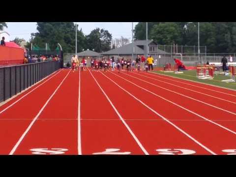 July27,2015@Pike high school(DQ running the 100 meter finals.