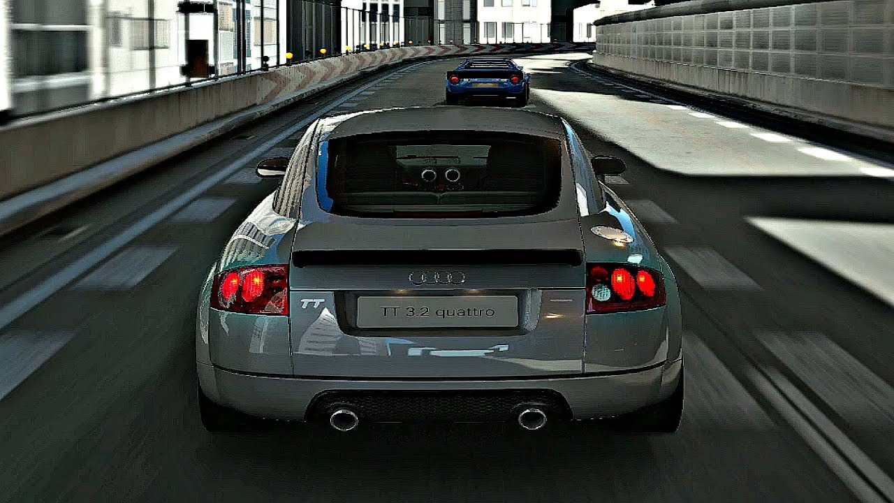 Gran Turismo Sport Gameplay Audi Tt Coupe 3 2 Quattro Tokyo Expressway 1080p 60fps