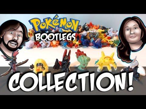 Hilarious Pokemon Bootleg Figures Collection!