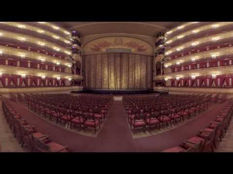 360 video: Unique Bolshoi Theatre VR tour.