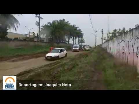 Condutores enfrentam dificuldades para transitar na estrada da Klabin