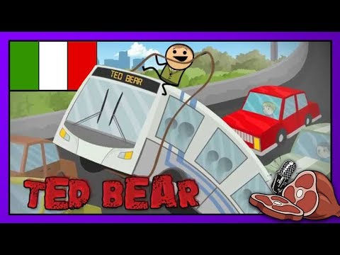 Ted Bear 2 ITA - Cyanide & Happiness Shorts - FRB