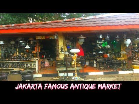 Jakarta Famous Antique Market | Coffee @ Cali Deli Madame Ching | Travel Vlog Jakarta, Indonesia