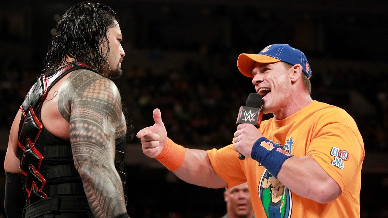 Wrestler remove thumb sorry, that