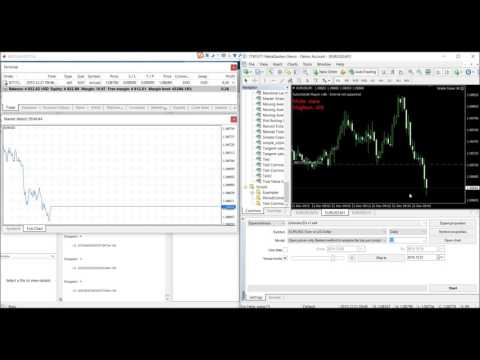 High Speed Trading System with Matlab