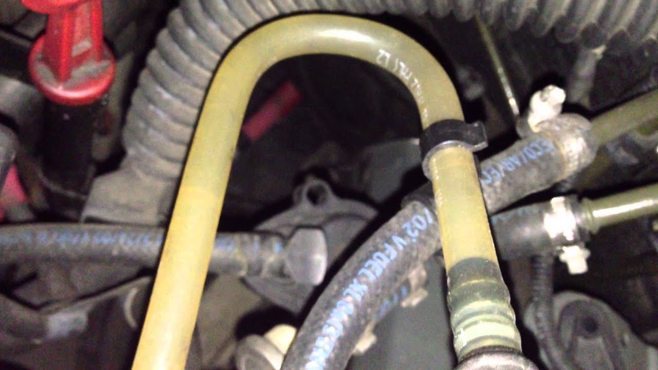 BMW E39 530d Fuel line inspection  YouTube