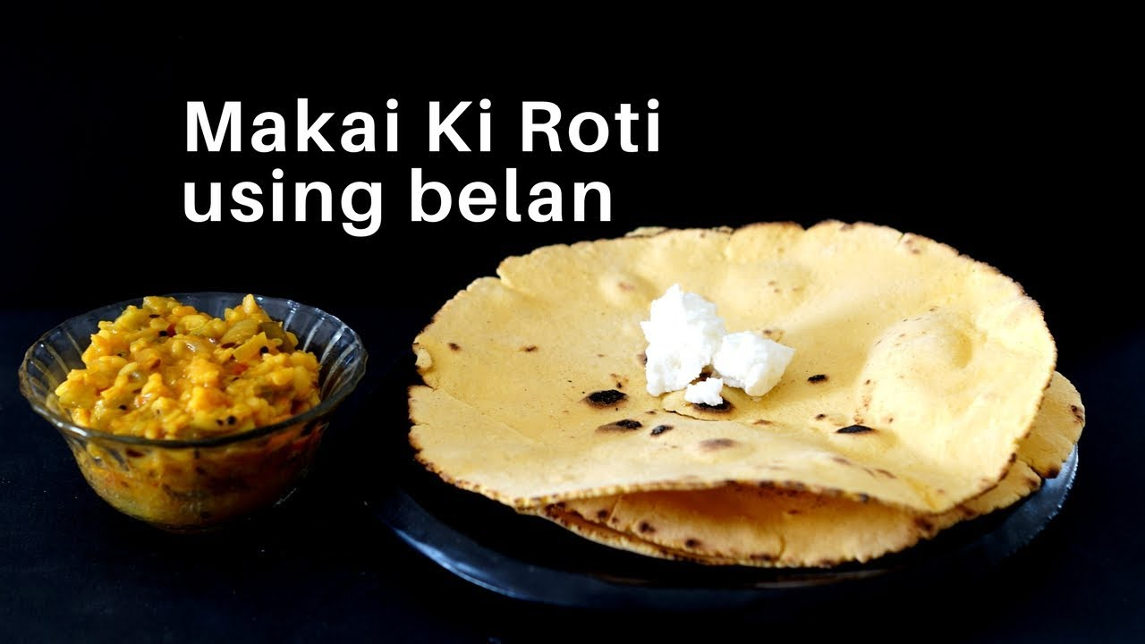 how to make makki ki roti in hindi