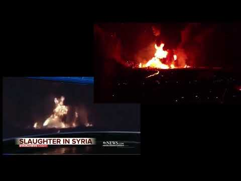 ABC News Using Footage From Knob Creek KY and Claiming it is From Syria Side by Side Comparison