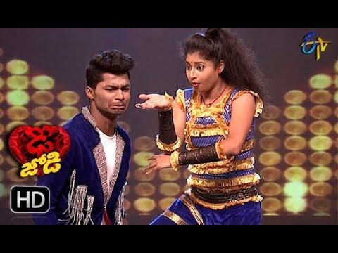Somesh and Shresti Performance | Dhee Jodi |  19th September 2018 | ETV Telugu