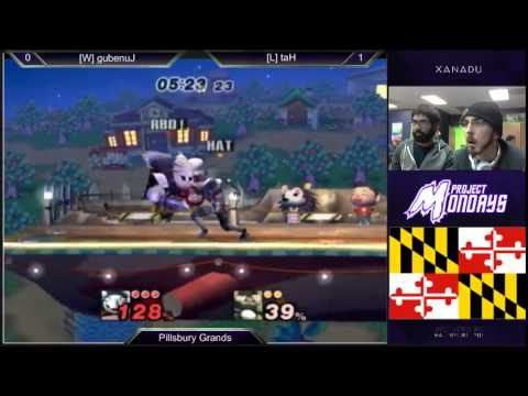 Project Mondays - Junebug (Meta Knight, Ganon) vs Hat (Sheik) PM Grand Finals - Project M 3.5