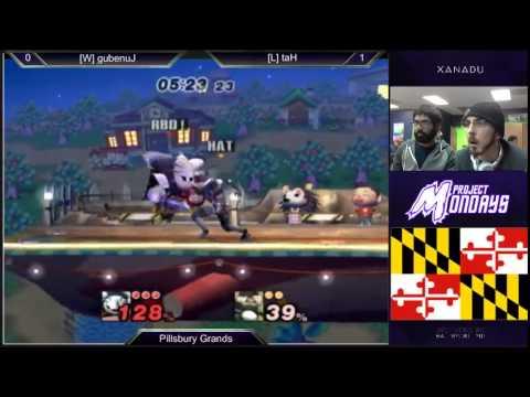 Project Mondays - Junebug (Meta Knight, Ganon) vs Hat (Sheik) PM Grand Finals - Project M 3.5